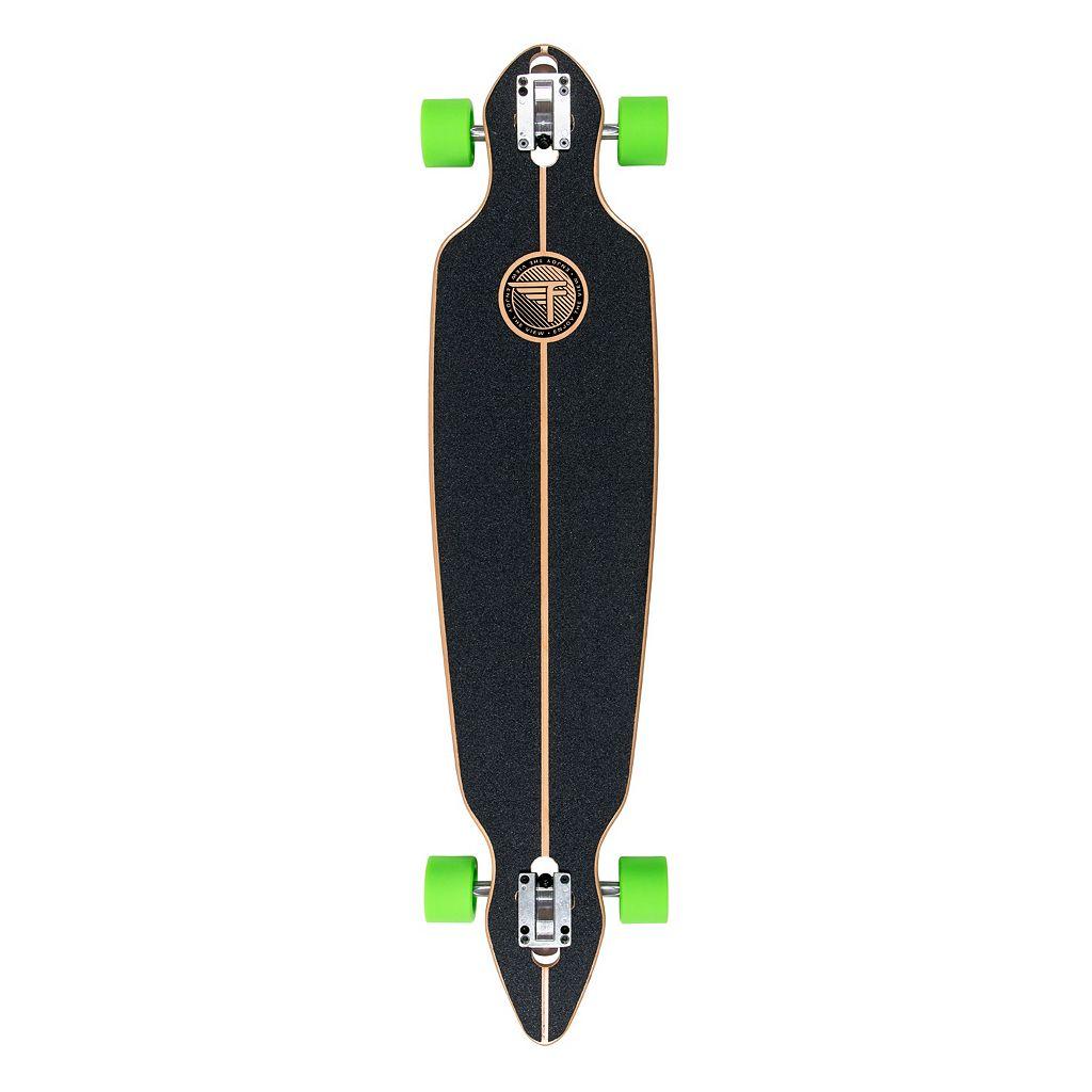 Flybar 40.5-Inch Zig Zag Circle Longboard