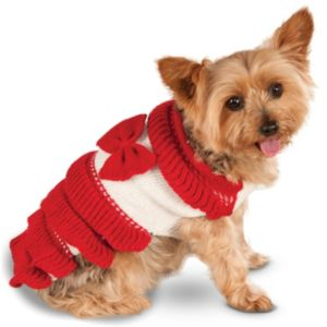 Pet Holiday Dress Costume