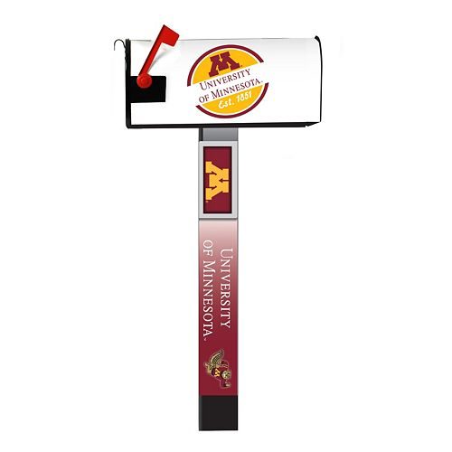 Minnesota Golden Gophers 2-Pack Magnetic Mailbox Post Cover