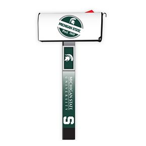 Michigan State Spartans 2-Pack Magnetic Mailbox Post Cover