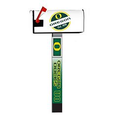 Oregon Ducks 2-Pack Magnetic Mailbox Post Cover