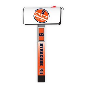 Syracuse Orange 2-Pack Magnetic Mailbox Post Cover
