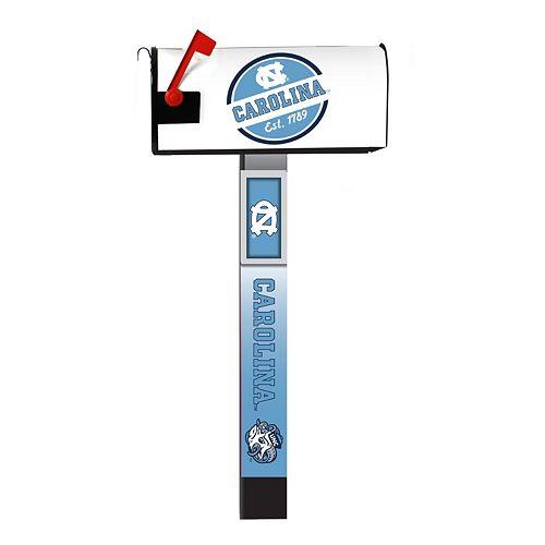 North Carolina Tar Heels 2-Pack Magnetic Mailbox Post Cover
