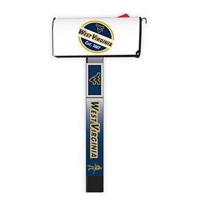 West Virginia Mountaineers 2-Pack Magnetic Mailbox Post Cover