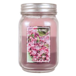 Fresh Lilac 12.5-oz. Mason Jar Candle
