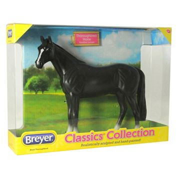Breyer Classics Black Thoroughbred Model Horse