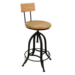 Ryder Industrial Bar Stool
