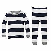 Baby Burt's Bees Baby Organic Rugby Stripe Pajama Set