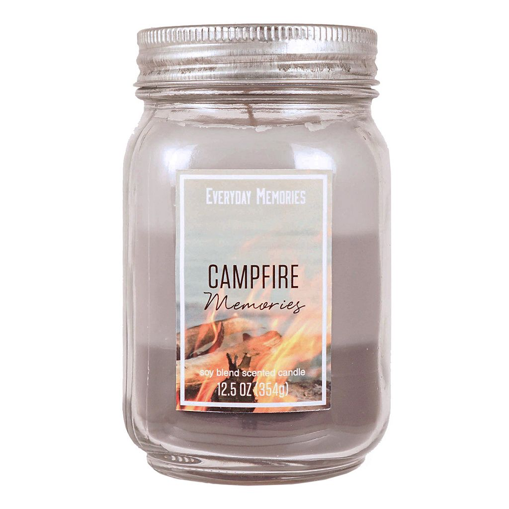 Campfire Memories 12.5-oz. Mason Jar Candle