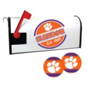 Clemson Tigers Magnetic Mailbox Cover & Decal Set