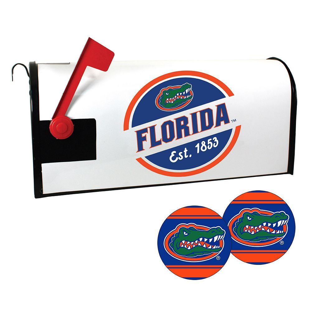 Florida Gators Magnetic Mailbox Cover & Decal Set