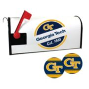Georgia Tech Yellow Jackets Magnetic Mailbox Cover & Decal Set