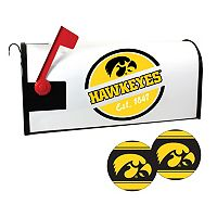 Iowa Hawkeyes Magnetic Mailbox Cover & Decal Set