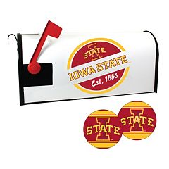 Iowa State Cyclones Magnetic Mailbox Cover & Decal Set
