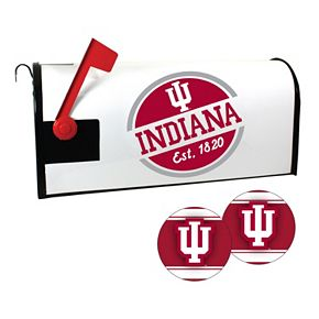 Indiana Hoosiers Magnetic Mailbox Cover & Decal Set