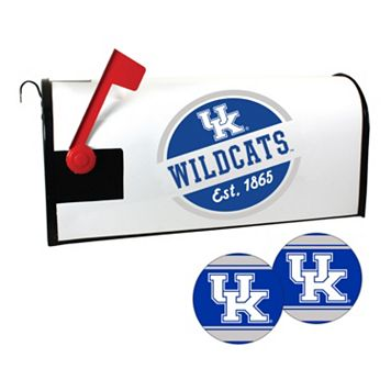 Kentucky Wildcats Magnetic Mailbox Cover & Decal Set