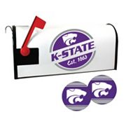 Kansas State Wildcats Magnetic Mailbox Cover & Decal Set