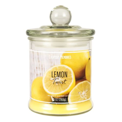 Lemon Twist 10-oz. Candle Jar
