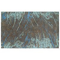 Kaleen Brushstrokes Motion Abstract Wool Rug