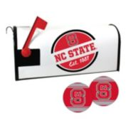 North Carolina State Wolfpack Magnetic Mailbox Cover & Decal Set