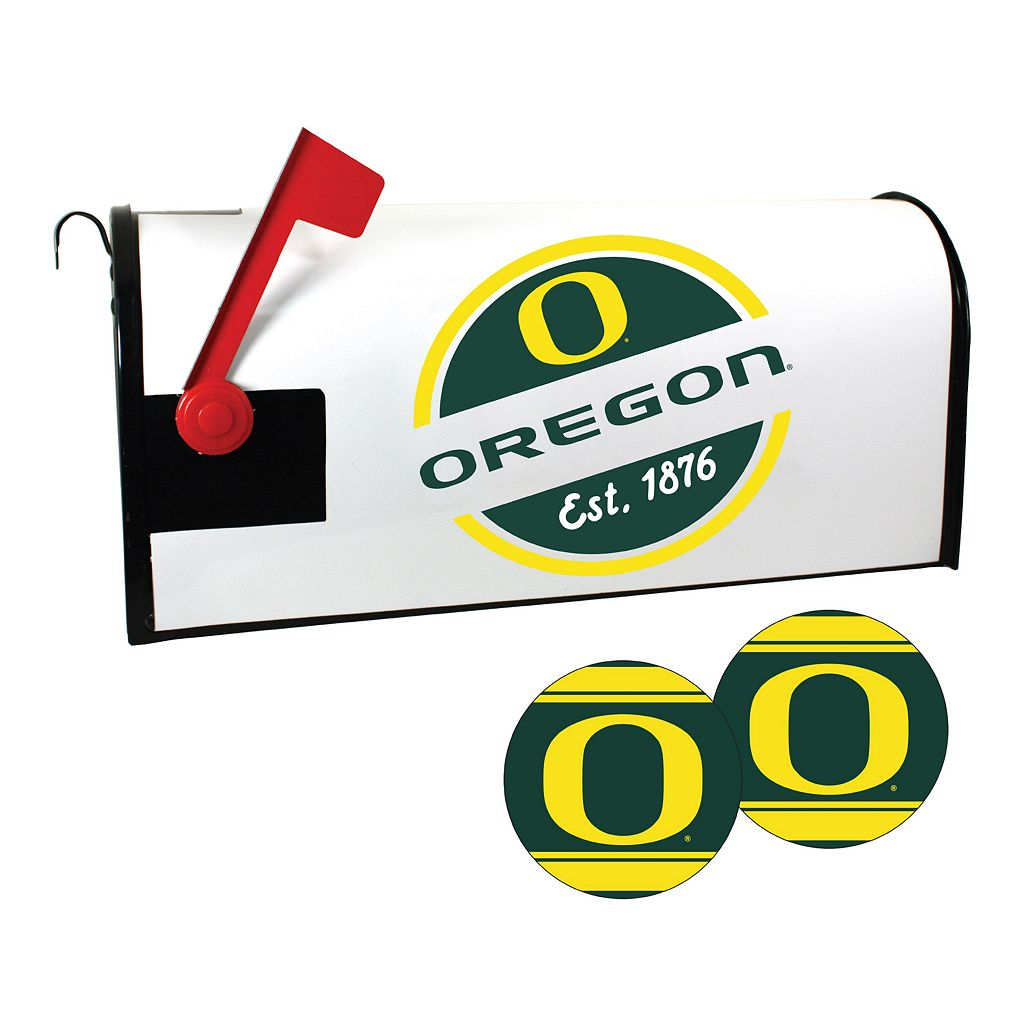 Oregon Ducks Magnetic Mailbox Cover & Decal Set