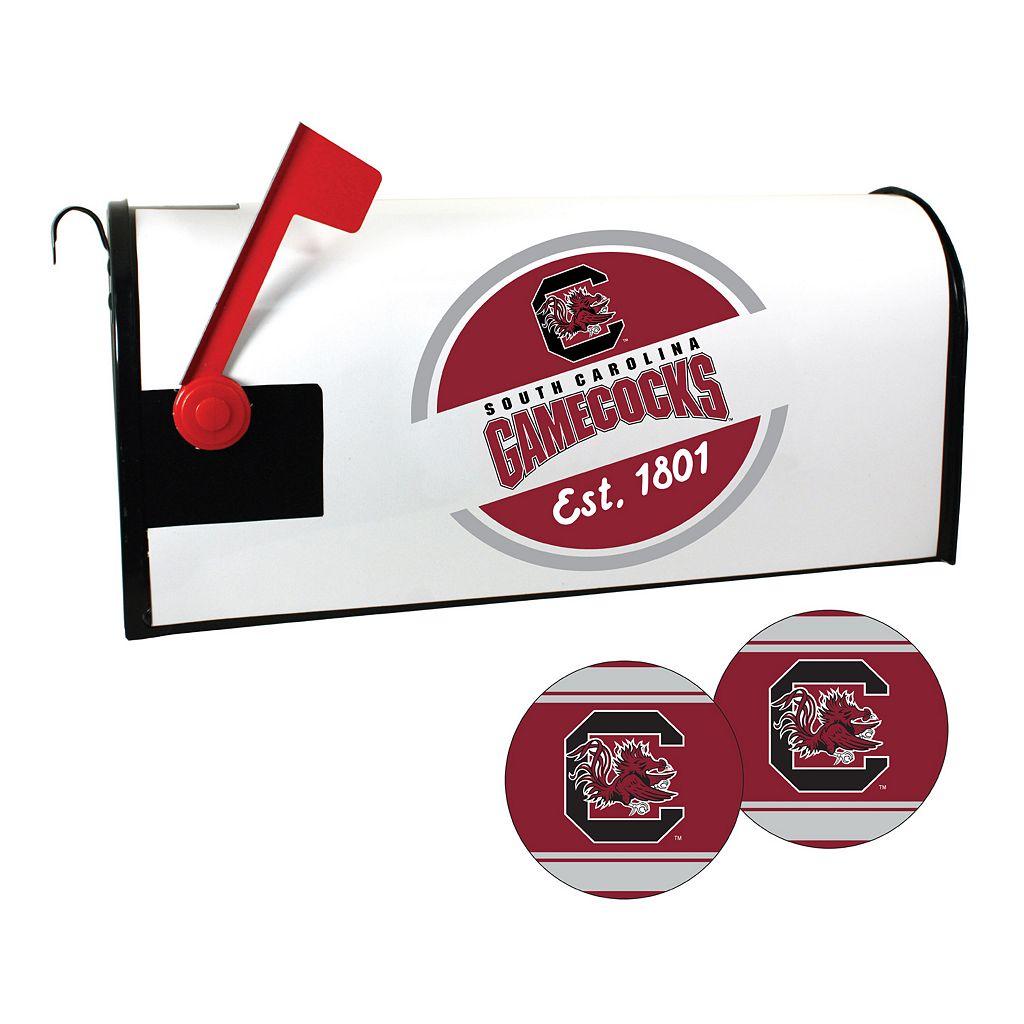 South Carolina Gamecocks Magnetic Mailbox Cover & Decal Set