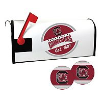 South Carolina Gamecocks Magnetic Mailbox Cover & Decal Set