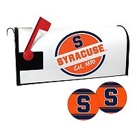 Syracuse Orange Magnetic Mailbox Cover & Decal Set