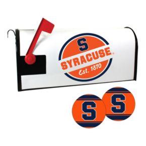 Syracuse Orange Magnetic Mailbox Cover & Decal Set