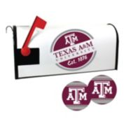 Texas A&M Aggies Magnetic Mailbox Cover & Decal Set