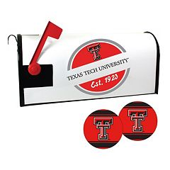 Texas Tech Red Raiders Magnetic Mailbox Cover & Decal Set