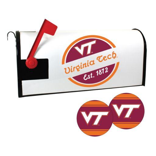 Virginia Tech Hokies Magnetic Mailbox Cover & Decal Set