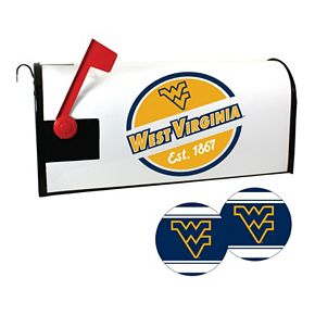 West Virginia Mountaineers Magnetic Mailbox Cover & Decal Set