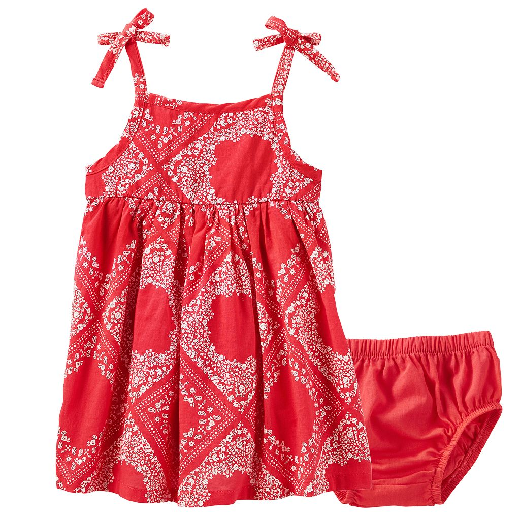 Baby Girl OshKosh B'gosh® Bandana-Print Sundress
