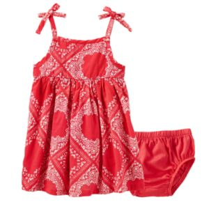 Baby Girl OshKosh B'gosh® Bandana-Print Sundress