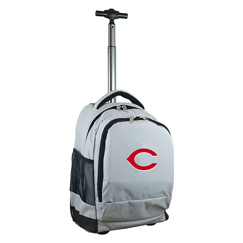 Cincinnati Reds Premium Wheeled Backpack