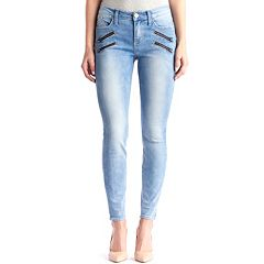Women's Rock & Republic® Kashmiere Zipper Accent Jean Leggings