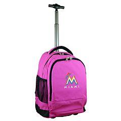 Miami Marlins Premium Wheeled Backpack