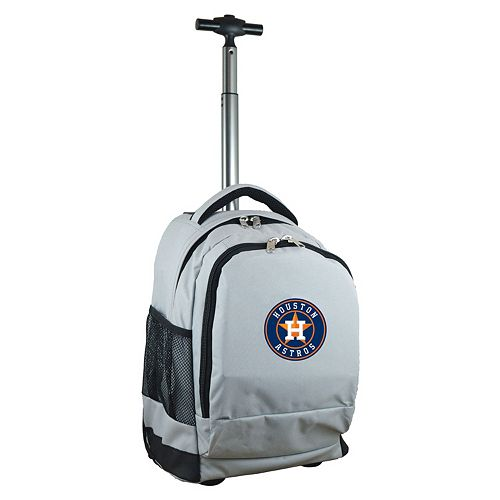 Houston Astros Premium Wheeled Backpack