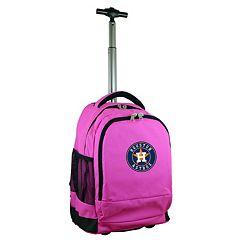 Houston Astros Premium Wheeled Backpack