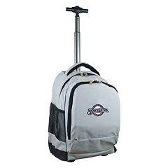 Milwaukee Brewers Premium Wheeled Backpack