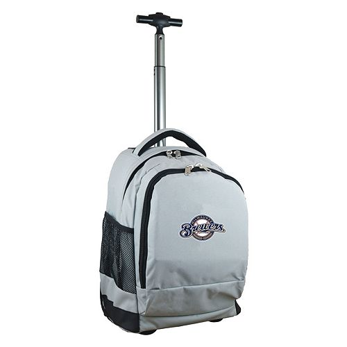 Milwaukee Brewers Premium Wheeled Backpack