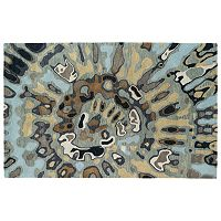 Kaleen Brushstrokes Swirl Abstract Wool Rug