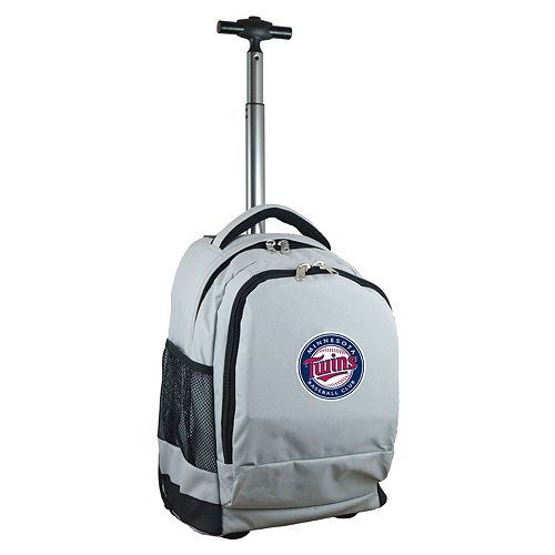 Minnesota Twins Premium Wheeled Backpack