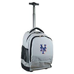 New York Mets Premium Wheeled Backpack