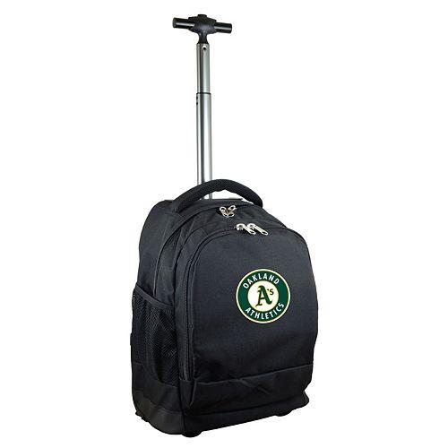 Oakland Athletics Premium Wheeled Backpack