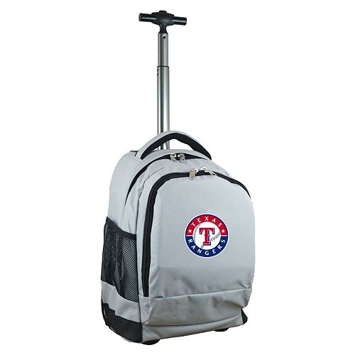 Texas Rangers Premium Wheeled Backpack