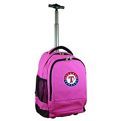Texas Rangers Premium Wheeled Backpack