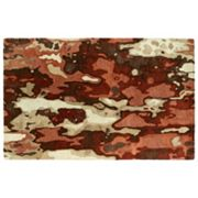 Kaleen Brushstrokes Paint Drips Abstract Wool Rug