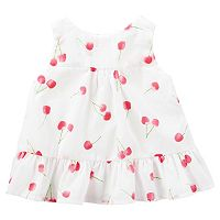Baby Girl OshKosh B'gosh® Cherry-Print Swing Tank Top